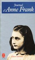 Couverture du livre « Journal d'Anne Frank » de Anne Frank aux éditions Lgf