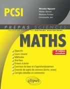 Couverture du livre « Mathematiques pcsi 4eme edition actualisee » de Nguyen aux éditions Ellipses Marketing
