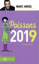 Couverture du livre « Poissons (édition 2019) » de Marc Angel aux éditions Hors Collection