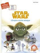 Couverture du livre « Mes premières lectures Hachette ; Star Wars - épisode V ; l'Empire contre-attaque » de Agnes Berger aux éditions Hachette Enfants