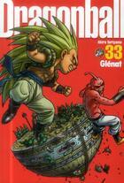 Couverture du livre « Dragon ball t.33 » de Akira Toriyama aux éditions Glenat
