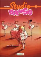 Couverture du livre « Studio danse T.4 » de Crip et Beka aux éditions Bamboo