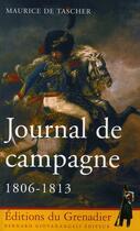 Couverture du livre « Journal de campagne 1806-1813 » de Tascher aux éditions Giovanangeli