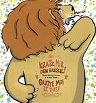 Couverture du livre « Gratte-moi le dos ! kratz mir den Buckel ! » de Marie-Helene Lafond et Benoit Turbet aux éditions Bernest