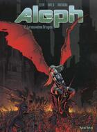 Couverture du livre « ALEPH T.2 ; LE 9E DRAGON » de Jean-Luc Istin et Dim aux éditions Nuclea