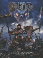 Couverture du livre « Slaine, geste des invasions t.1 » de Clint Langley et Pat Mills aux éditions Nickel