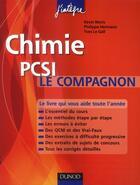 Couverture du livre « Chimie ; le compagnon PCSI » de Kevin Moris et Philippe Hermann et Yves Le Gall aux éditions Dunod