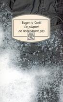 Couverture du livre « La plupart ne reviendront pas » de Eugenio Corti aux éditions Motifs