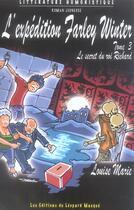 Couverture du livre « Affaire Farley Winter-Secret Du Roi Richard T 3 » de Marie-Louise Sergentet aux éditions Le Leopard Masque