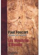 Couverture du livre « Les mystères d'Éleusis » de Paul Foucart aux éditions Dualpha