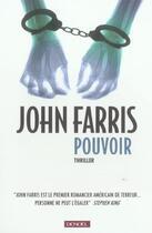Couverture du livre « Pouvoir » de John Farris aux éditions Denoel