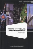 Couverture du livre « Introduction aux télécommunications » de Jean-Marie Dilhac aux éditions Pu Du Mirail
