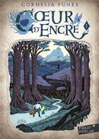 Couverture du livre « Coeur d'encre t.1 » de Cornelia Funke aux éditions Gallimard-jeunesse