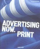 Couverture du livre « Advertising now. print » de Julius Wiedemann aux éditions Taschen