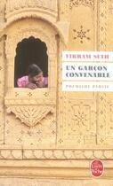 Couverture du livre « Un garcon convenable t.1 » de Vikram Seth aux éditions Lgf