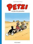 Couverture du livre « Petzi T.4 ; Petzi au pays des pyramides » de Carla Hansen et Vilhelm Hansen aux éditions Place Du Sablon