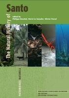 Couverture du livre « The natural history of Santo » de Collectif aux éditions Mnhn
