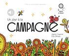 Couverture du livre « Un jour a la campagne - relook - mes promenades sonores - audio » de Chaumie/Offredo aux éditions Didier Jeunesse
