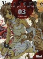 Couverture du livre « Variante t.3 » de Iqura Sugimoto aux éditions Glenat