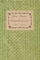 Couverture du livre « Béquille d'école ; une traversée » de Jean Miniac aux éditions Conference