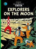 Couverture du livre « The adventures de Tintin t.17 ; explorers on the moon » de Herge aux éditions Casterman