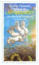 Couverture du livre « Les chants de Maldoror » de Lautreamont aux éditions Flammarion
