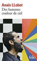 Couverture du livre « Des hommes couleur de ciel » de Anais Llobet aux éditions Gallimard