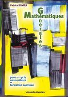 Couverture du livre « Mathematiques Generales » de P Rovira aux éditions Cepadues