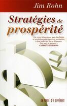 Couverture du livre « Stratégies de prosperité » de Jim Rohn aux éditions Un Monde Different