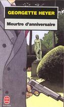 Couverture du livre « Meurtre D'Anniversaire » de Heyer-G aux éditions Lgf