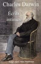 Couverture du livre « Écrits intimes » de Charles Darwin aux éditions Rivages
