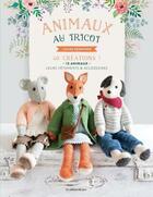 Couverture du livre « Animaux au tricot ; 40 créations » de Louise Crowther aux éditions De Saxe