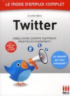 Couverture du livre « Twitter (2e édition) » de Olivier Abou aux éditions Micro Application