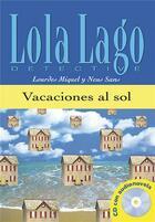 Couverture du livre « Vacaciones al sol + cd (nivel 0) » de Fernandez J aux éditions La Maison Des Langues