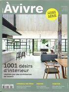 Couverture du livre « Architectures a vivre hs n 37 1001 desirs d interieur decembre 2017 » de Collectif aux éditions Architectures A Vivre