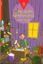 Couverture du livre « Jean Quete, Detective Prive » de Barton-C aux éditions Hachette Jeunesse