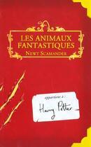 Couverture du livre « Les animaux fantastiques » de Joanne Kathleen Rowling aux éditions Gallimard-jeunesse