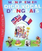 Couverture du livre « Mon Premier Dico Vocal D'Anglais » de Bruno Heitz aux éditions Rue Des Ecoles