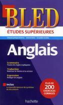 Couverture du livre « BLED ; anglais (édition 2013) » de Annie Sussel aux éditions Hachette Education