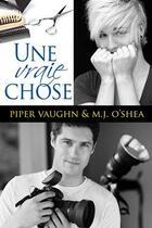 Couverture du livre « Une vraie chose » de Vaughn/O'Shea aux éditions Reines-beaux