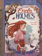 Couverture du livre « Les enquêtes d'Enola Holmes T.1 ; la double disparition » de Serena Blasco aux éditions Jungle