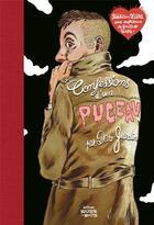 Couverture du livre « Confessions d'un puceau » de Dav Guedin aux éditions Rouquemoute