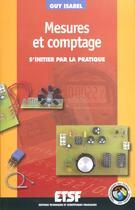 Couverture du livre « Comptage Et Mesures ; S'Initier Pour La Pratique » de Guy Isabel aux éditions Dunod