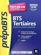 Couverture du livre « PREPABTS ; BTS tertiaire » de Olivier Prevost aux éditions Foucher