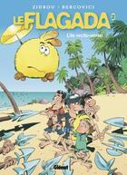 Couverture du livre « Le flagada t.2 ; l'île recto-verso » de Zidrou et Philippe Bercovici aux éditions Glenat