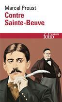 Couverture du livre « Contre sainte-beuve » de Marcel Proust aux éditions Gallimard