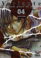 Couverture du livre « Variante t.4 » de Iqura Sugimoto aux éditions Glenat
