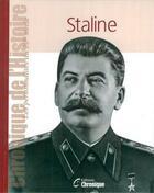 Couverture du livre « Staline » de Collectif aux éditions Chronique