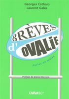 Couverture du livre « Brèves d'ovalie ; perles en mêlée » de Laurent Gales et Georges Cathalo aux éditions Chiflet
