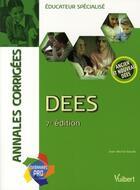 Couverture du livre « DEES annales corrigées (7e édition) » de Jean-Michel Baude aux éditions Vuibert